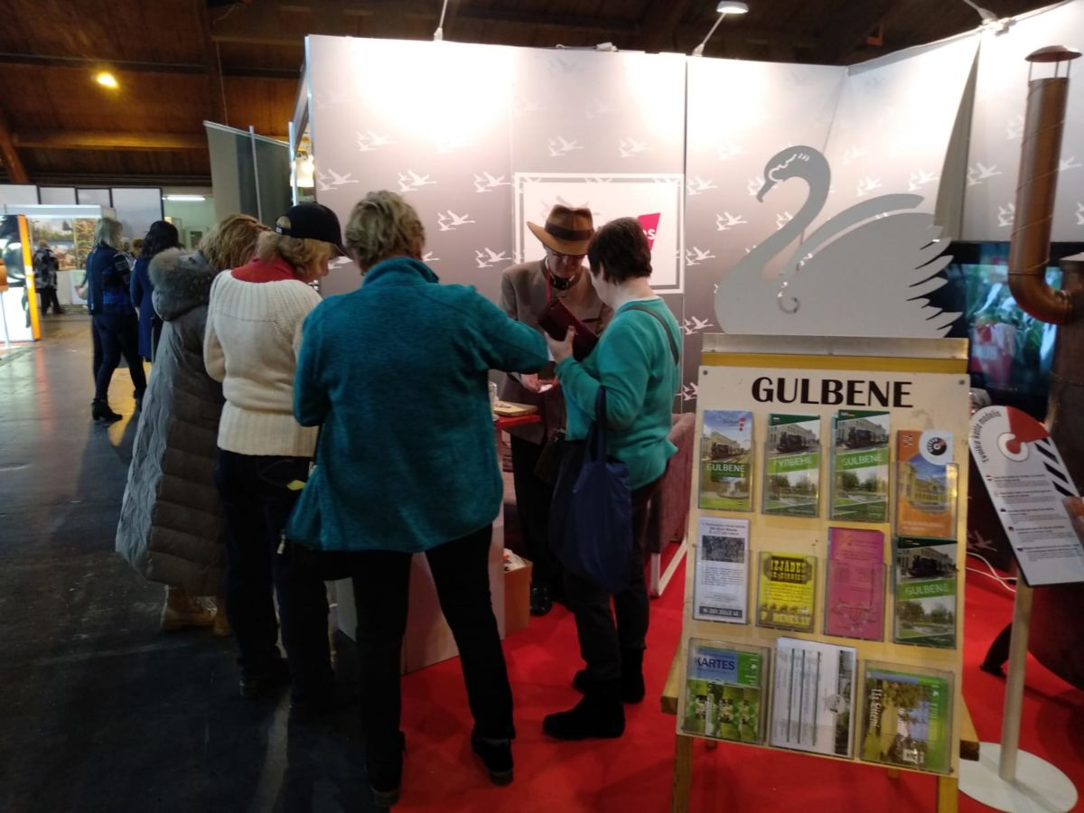 Gulbene tourism offer will be presented in International tourism exhibitions